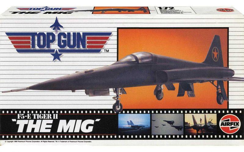 AIRFIX 1/72 00502 TOP GUN F-5E TIGER II THE MIG