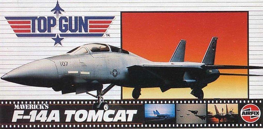 AIRFIX 1/72 00503 TOP GUN MAVERICK S F-14A TOMCAT
