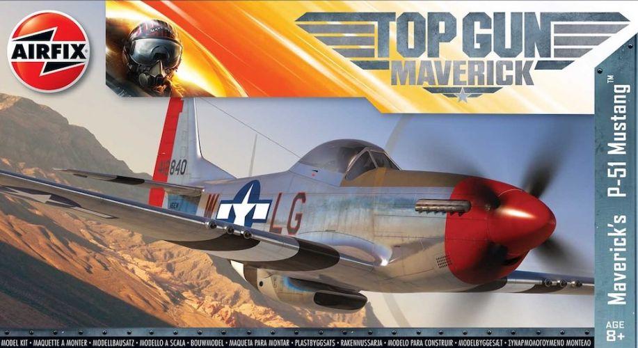 AIRFIX 1/72 00505 TOP GUN MAVERICK S P-51 MUSTANG