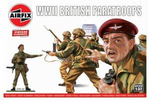 AIRFIX 1/32 A02701V VINTAGE CLASSICS WWII BRITISH PARATROOPS