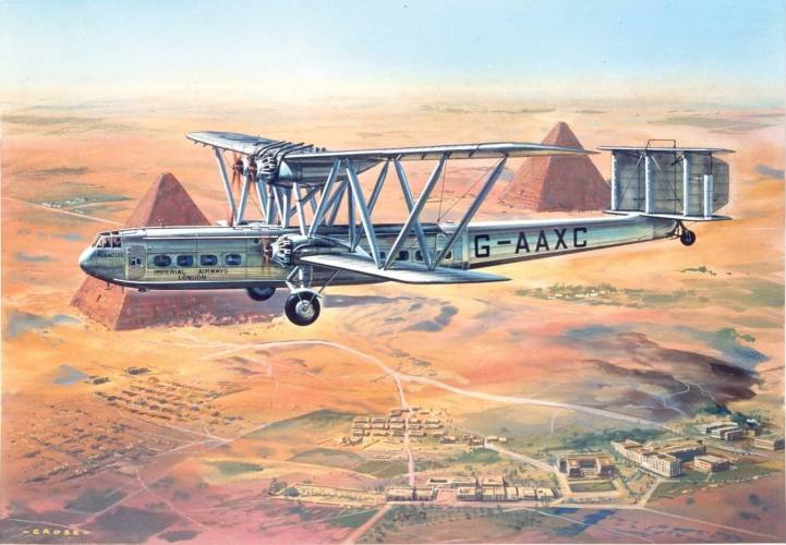 AIRFIX 1/144 A03172V VINTAGE CLASSICS HANDLEY-PAGE 42 HERACLES