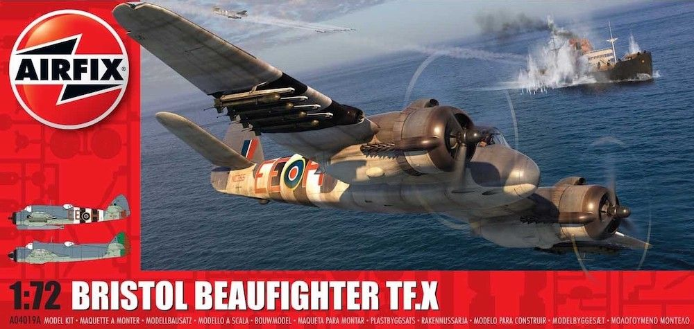 AIRFIX 1/72 04019A BRISTOL BEAUFIGHTER TF.X