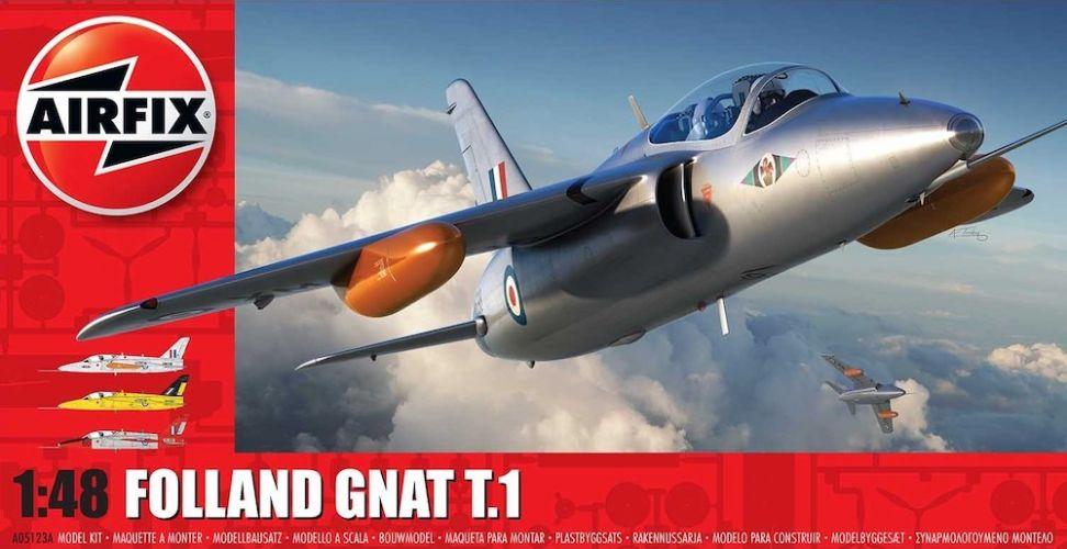 AIRFIX 1/48 05123A FOLLAND GNAT T.1