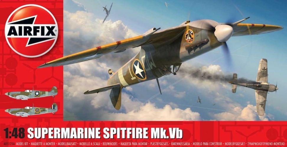 AIRFIX 1/48 05125A SUPERMARINE SPITFIRE MK.VB