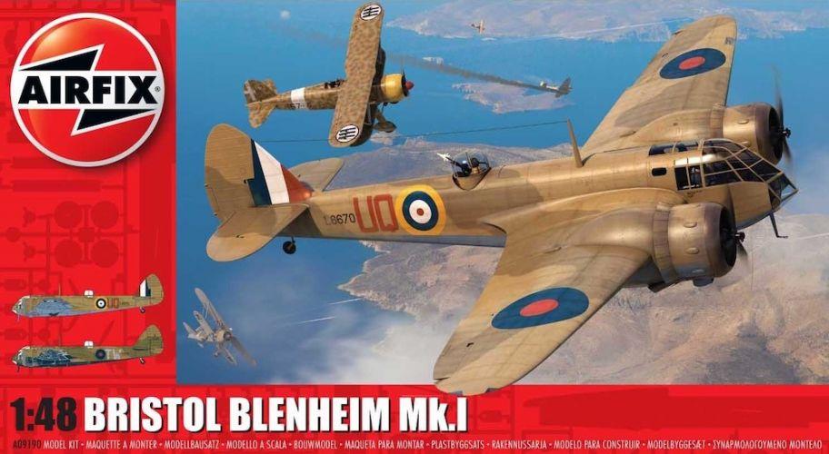 AIRFIX 1/48 09190 BRISTOL BLENHEIM MK.I