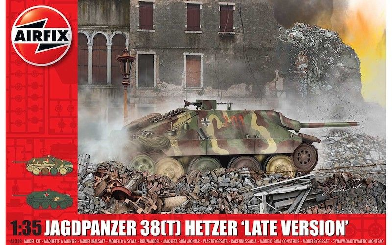AIRFIX 1/35 1353 JAGDPANZER 38  T  HETZER LATE VERSION