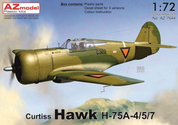 AZ MODEL 1/72 7644 CURTIS HAWK H-75A -4/5/7