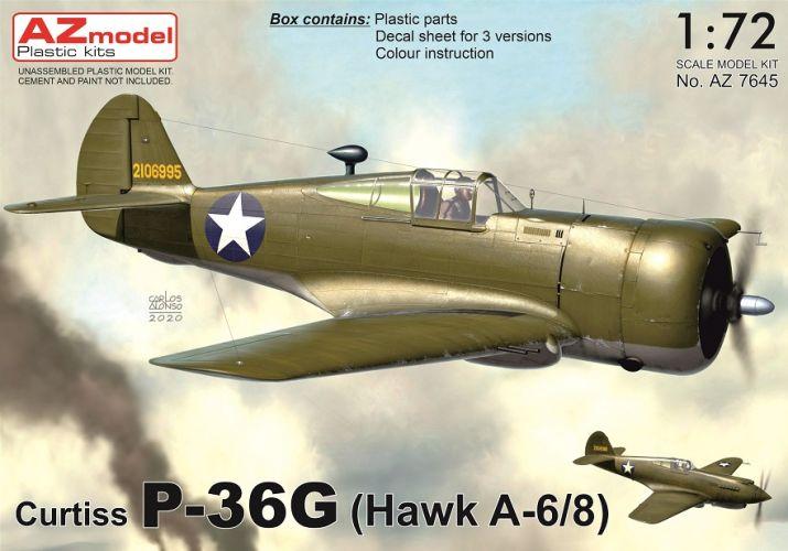 AZ MODEL 1/72 7645 CURTISS P-36G HAWK A-6/8