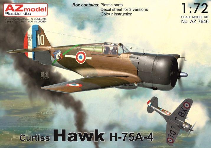 AZ MODEL 1/72 7646 CURTISS HAWK H-75A -4