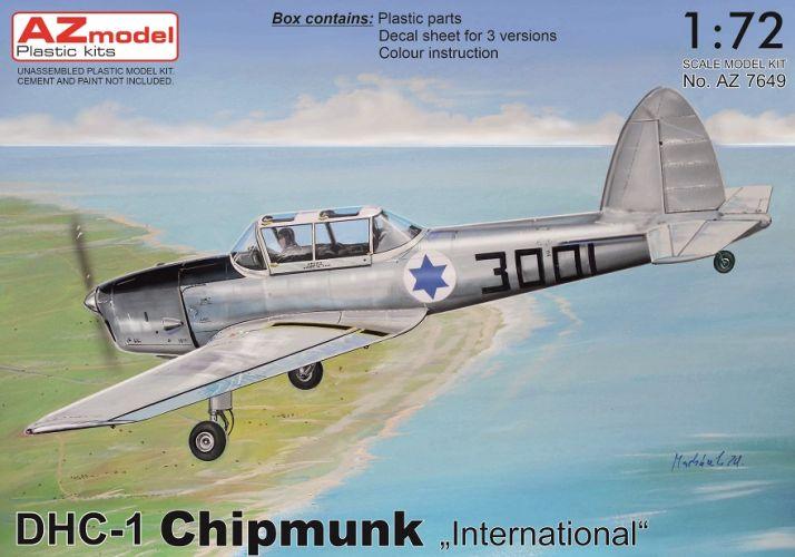 AZ MODEL 1/72 7649 DHC CHIPMUNK INTERNATIONAL