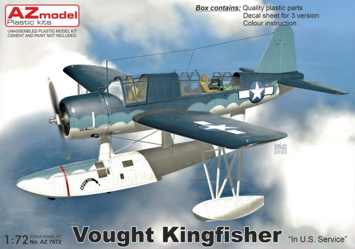 AZ MODEL 1/72 7672 VOUGHT KINGFISHER US SERVICE