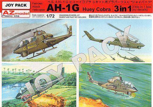 AZ MODEL 1/72 7702 AH-1G HUEY COBRA