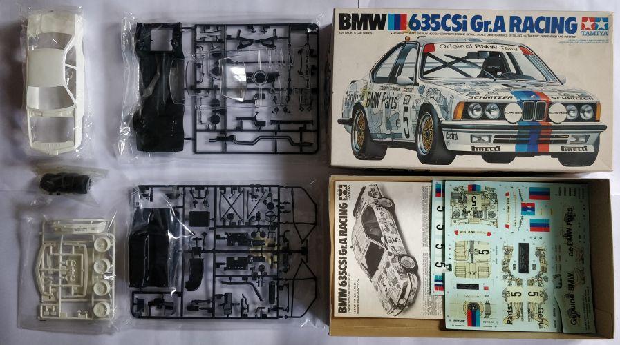 KINGKIT MODEL SCRAPYARD 1/24 TAMIYA - 2461 BMW 635CSI GR.A RACING - DECALS ARE CUT