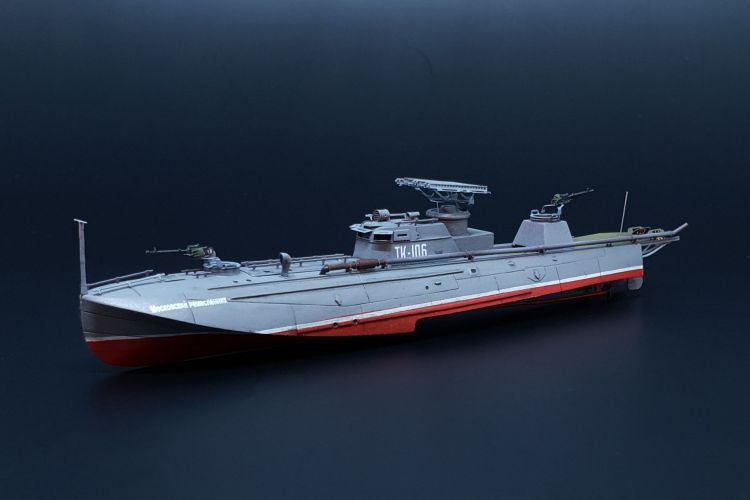 BRENGUN 1/144 144051 TUPOLEV G-5 AKA HIGH SPEED TORPEDO BOAT