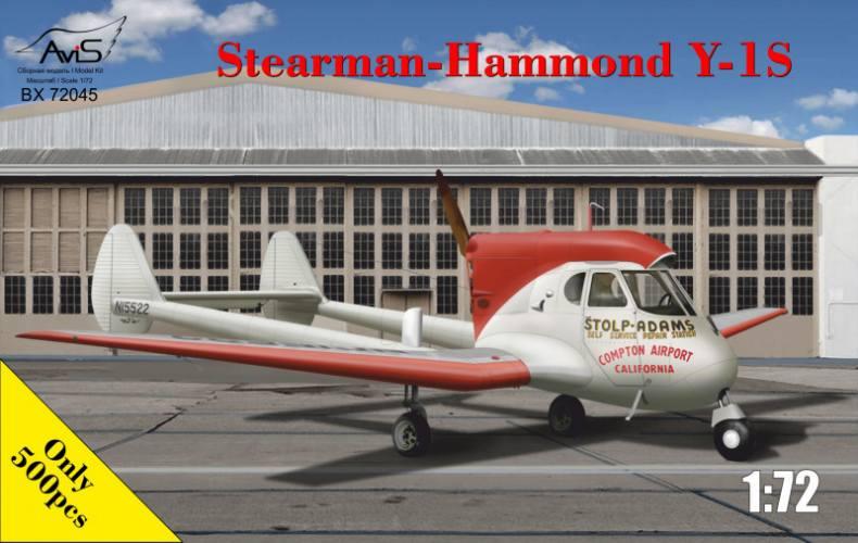 AVIS 1/72 72045 STEARMAN-HAMMOND Y-1S