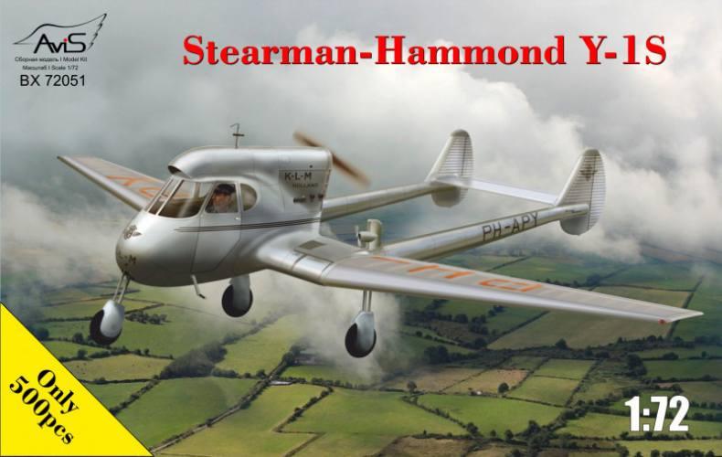 AVIS 1/72 72051 STEARMAN-HAMMOND Y-1S