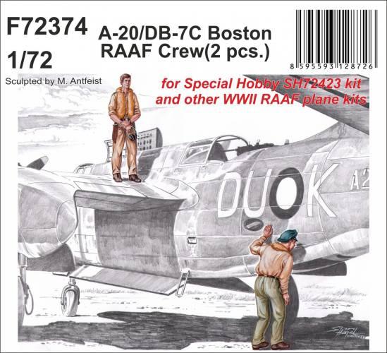 CMK 1/72 72374 A-20/DB-7C BOSTON RAAF CREW