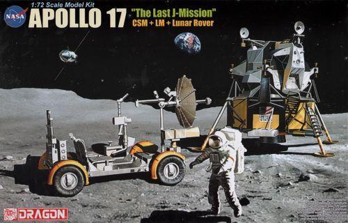 DRAGON 1/72 11015 APOLLO 17 - THE LAST MISSION