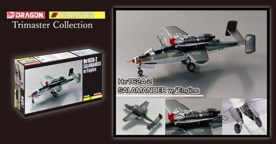 DRAGON 1/48 5576 MA2 He162A-2 SALAMANDER w/ENGINE