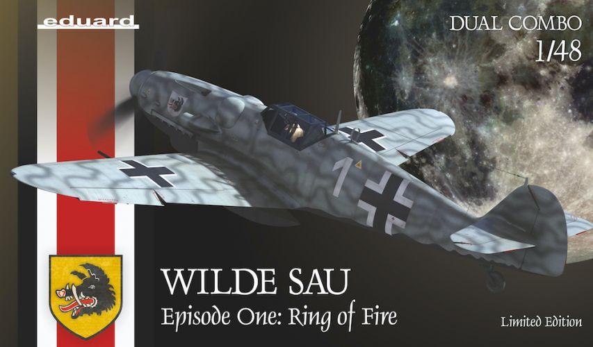 EDUARD 1/48 11140 WILDE SAU EPISODE ONE - RING OF FIRE DUAL COMBO
