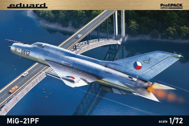 EDUARD 1/72 70143 MIG-21PF