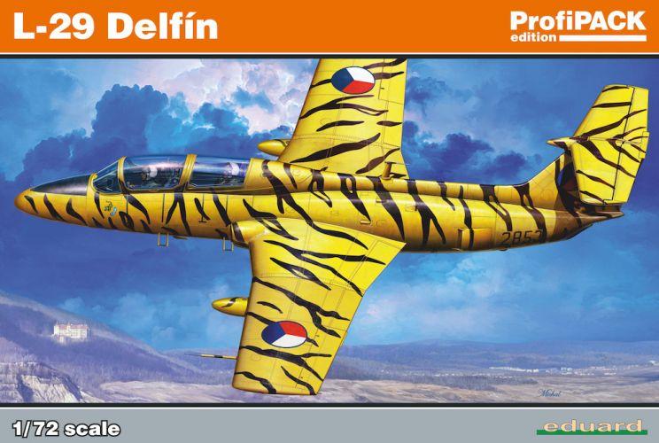 EDUARD 1/72 7096 L-29 DELFIN PROFIPACK