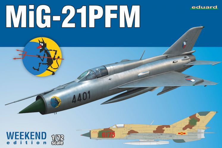 EDUARD 1/72 7454 MIG-21 PFM