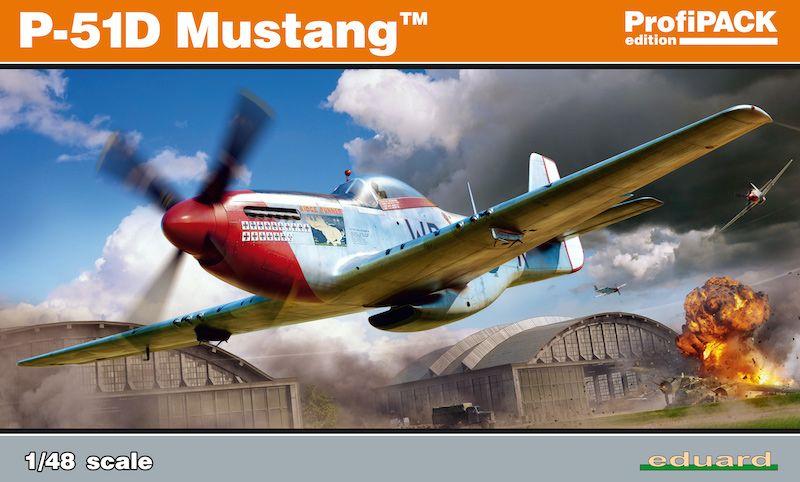 EDUARD 1/48 82102 P-51D MUSTANG PROFIPACK