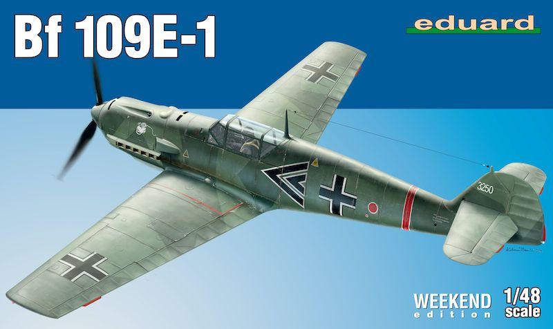 EDUARD 1/48 84158 BF 109E-1 WEEKEND EDITION