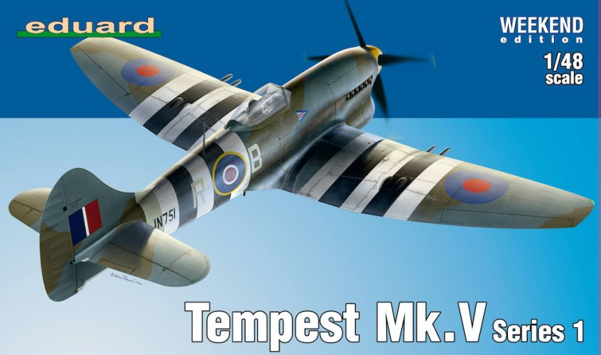 EDUARD 1/48 84171 TEMPEST MK.V SERIES 1 WEEKEND EDITION