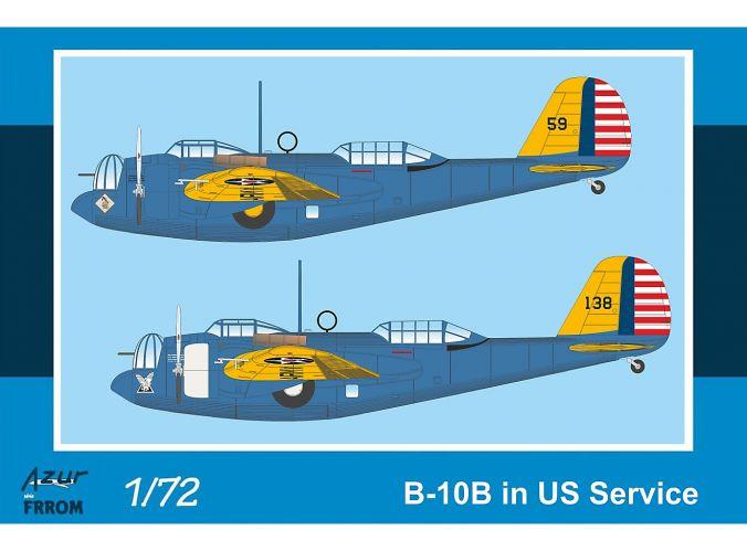 AZUR 1/72 FR0040 B-10B IN US SERVICE