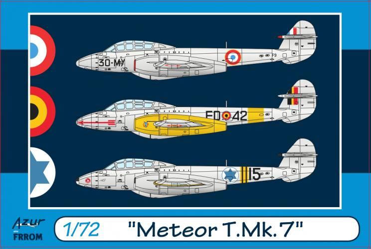AZUR 1/72 FR0045 METEOR T.MK.7