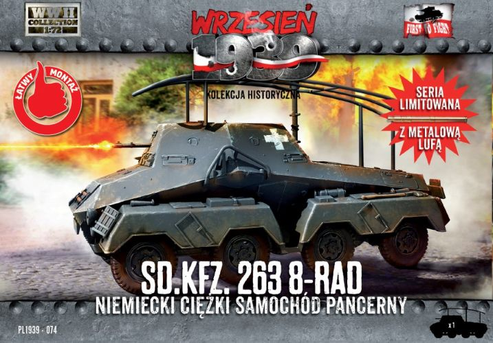 FIRST TO FIGHT 1/72 074 SD.KFZ.263 8-RAD