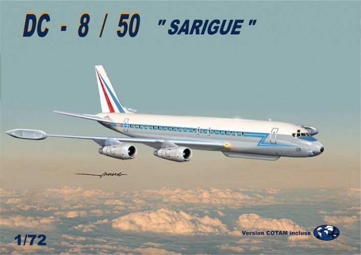 MACH 1/72 G110AAF DOUGLAS DC-8/50 SARIGUE