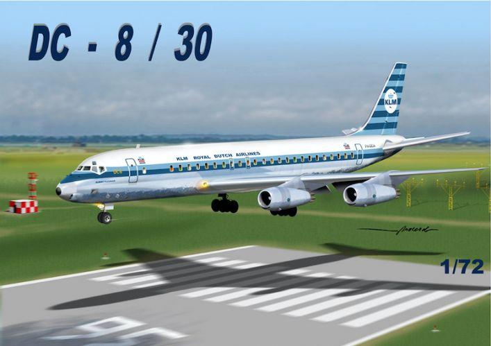MACH 1/72 GP110KLM DOUGLAS DC-8/30 KLM DUTCH