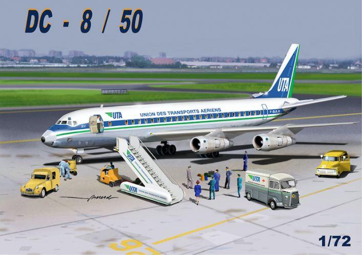 MACH 1/72 GP110UTA DOUGLAS DC-8/50 UTA