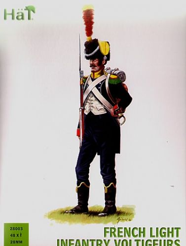 HAT INDUSTRIES 1/56 28003 FRENCH LIGHT INFANTRY VOLTIGEURS
