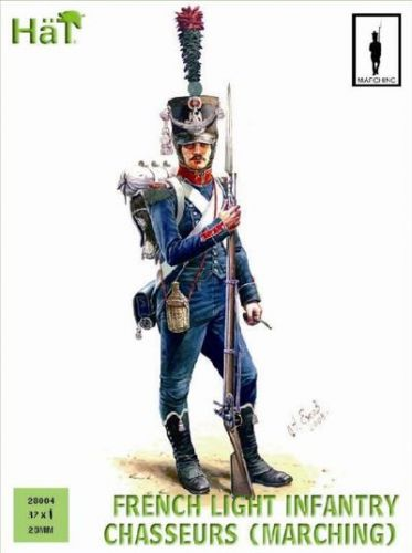 HAT INDUSTRIES 28MM 28004 FRENCH LINE INFANTRY CHASSEURS  MARCHING