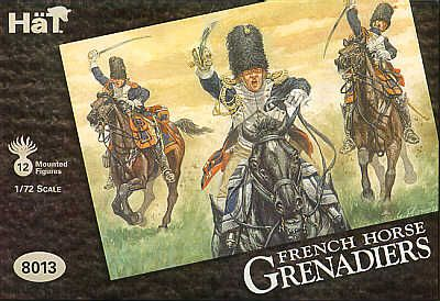 HAT INDUSTRIES 1/72 8013 NAPOLEONIC FRENCH HORSE GRENADIERS