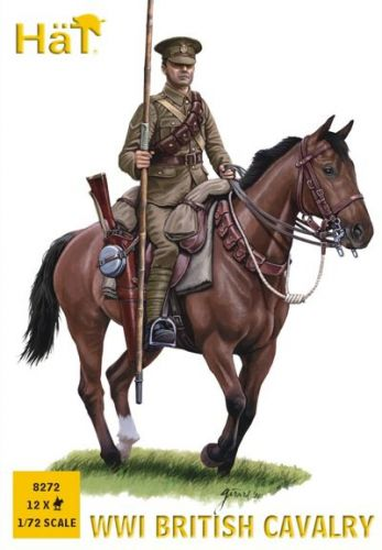 HAT INDUSTRIES 1/72 8272 WWI BRITISH CAVALRY