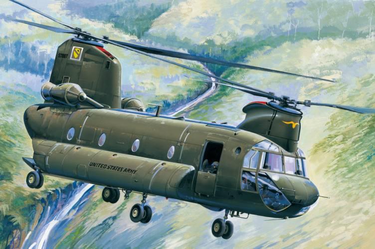 HOBBYBOSS 1/48 81772 CH-47A CHINOOK
