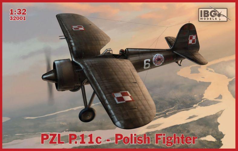 IBG MODELS 1/32 32001 PZL P.11C POLISH FIGHTER