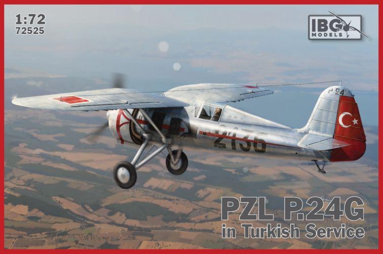 IBG MODELS 1/72 72525 PZL P.24G IN TURKISH SERVICE