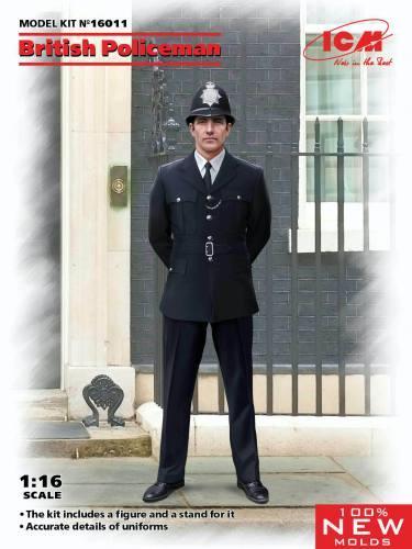ICM 1/16 16011 BRITISH POLICEMAN