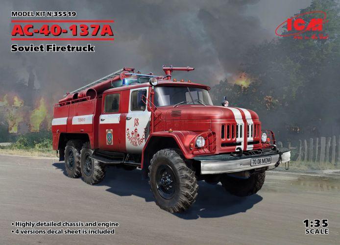 ICM 1/35 35519 AC-40-137A COVIET FIRE-TRUCK