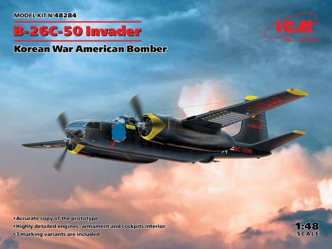 ICM 1/48 48284 B-26C-50 INVADER KOREAN WAR