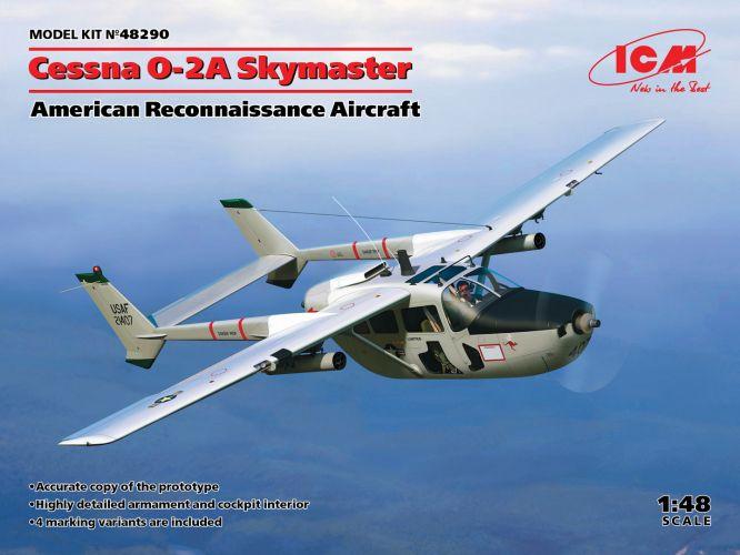ICM 1/48 48290 CESSNA O-2A SKYMASTER