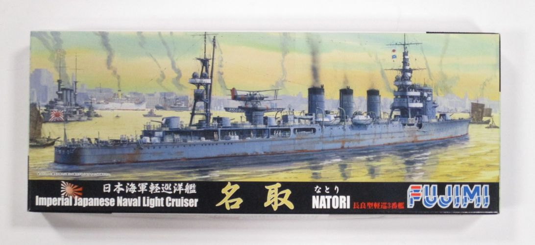 FUJIMI 1/700 401201 NATORI IMPERIAL JAPANESE NAVAL LIGHT CRUISER