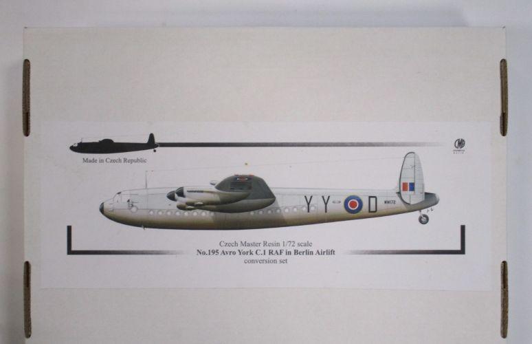 CZECH MASTER RESIN 1/72 195 AVRO YORK C.1 RAF IN BERLIN AIRLIFT