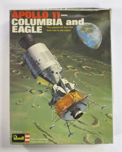 REVELL 1/96 1862 APOLLO 11 COLUMBIA AND EAGLE